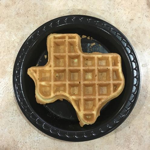 Lone waffle plate